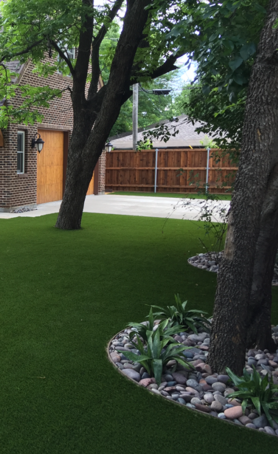 Artificial Grass Landscaping Design In Dallas Tx Synthetic