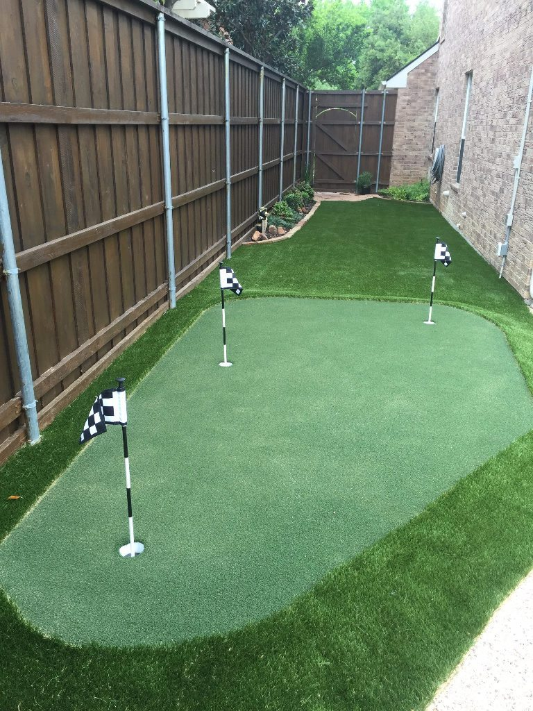 Putting Green Home