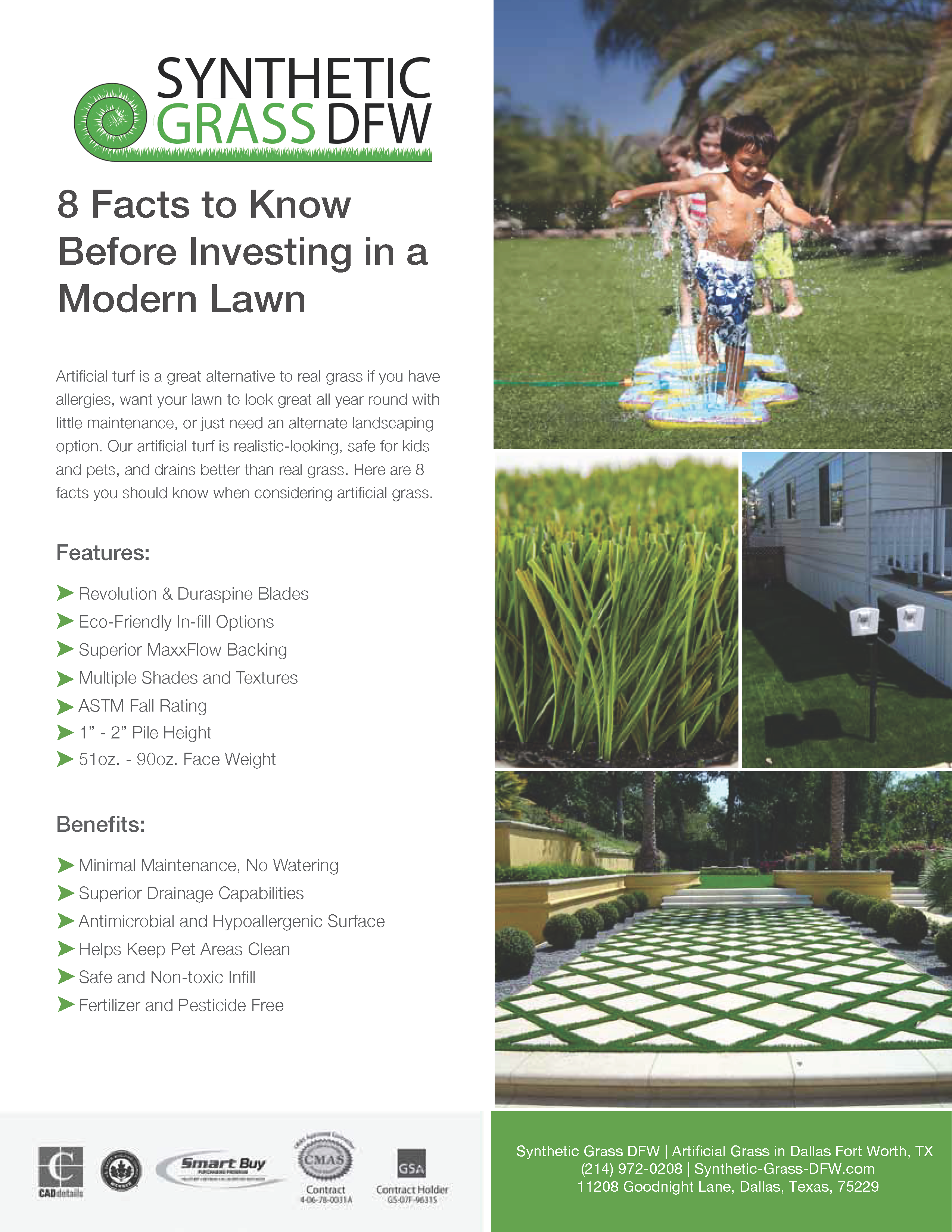 8 Facts about artificial grass