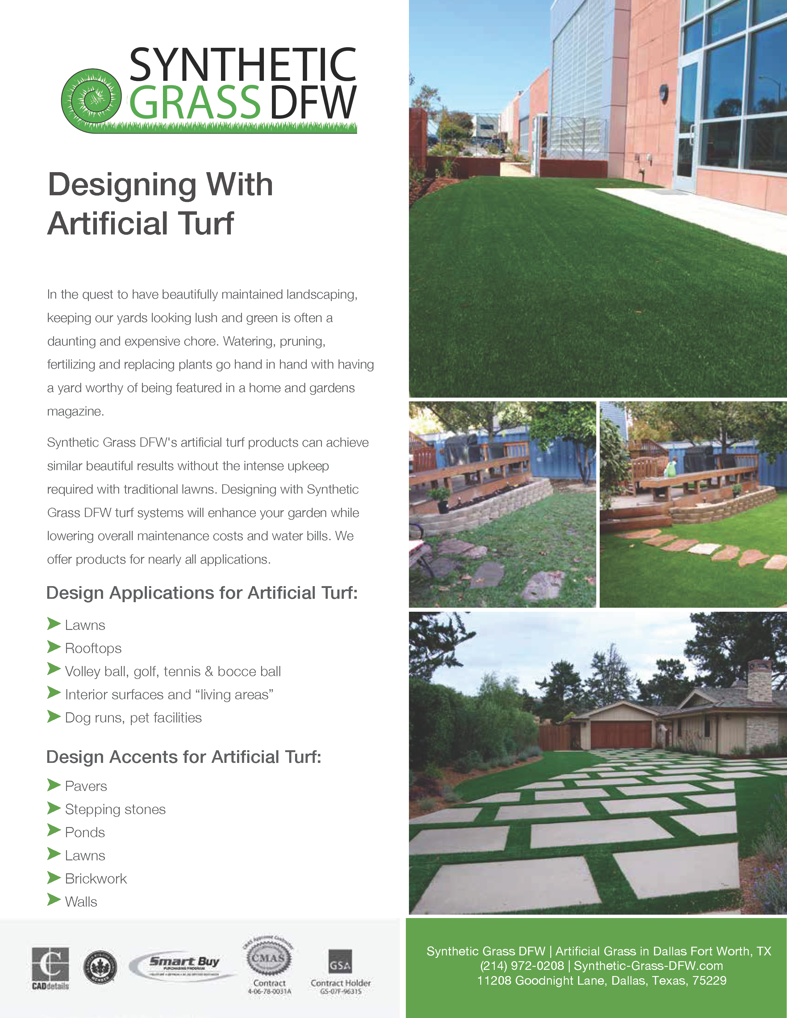 Designing with Artificial Grass