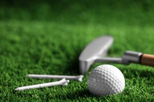 golf outdoor games synthetic grass