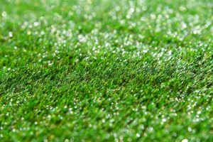 artificial turf wet