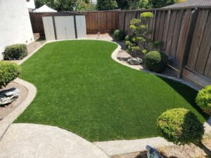 synthetic grass for yard care