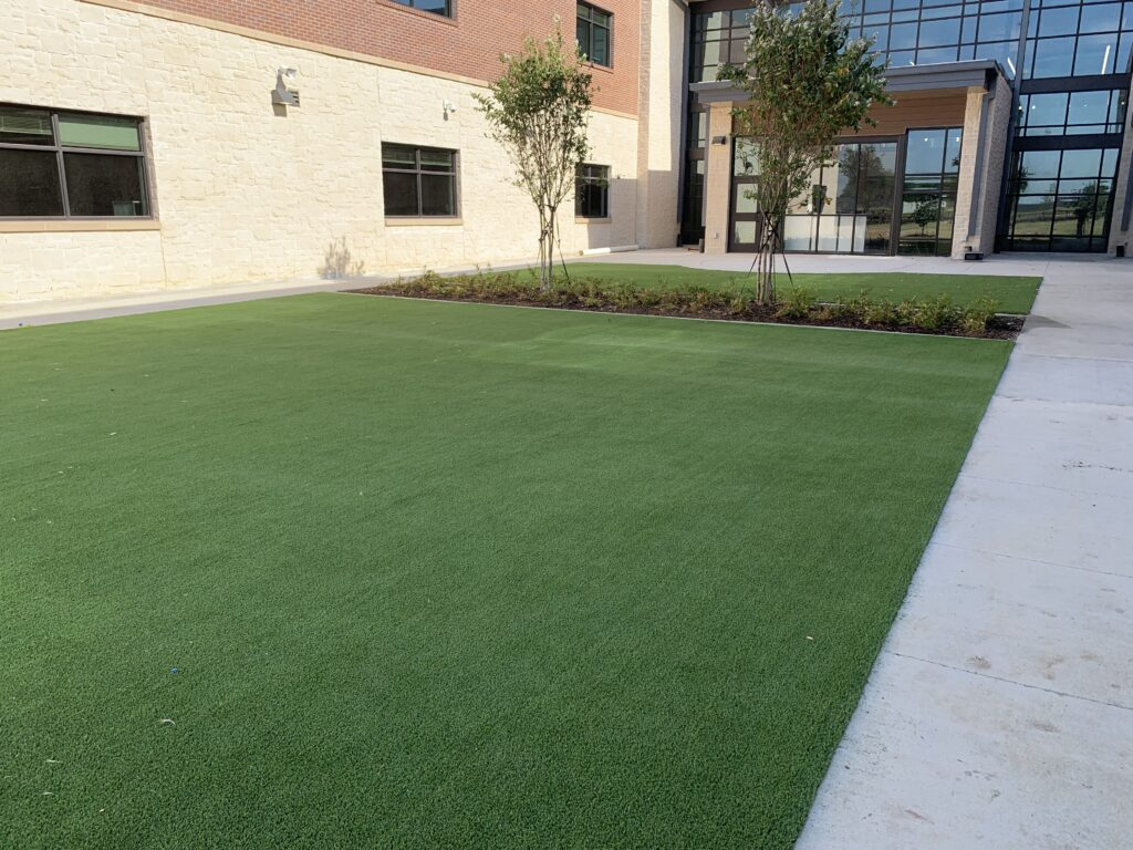 Commercial Turf Installation