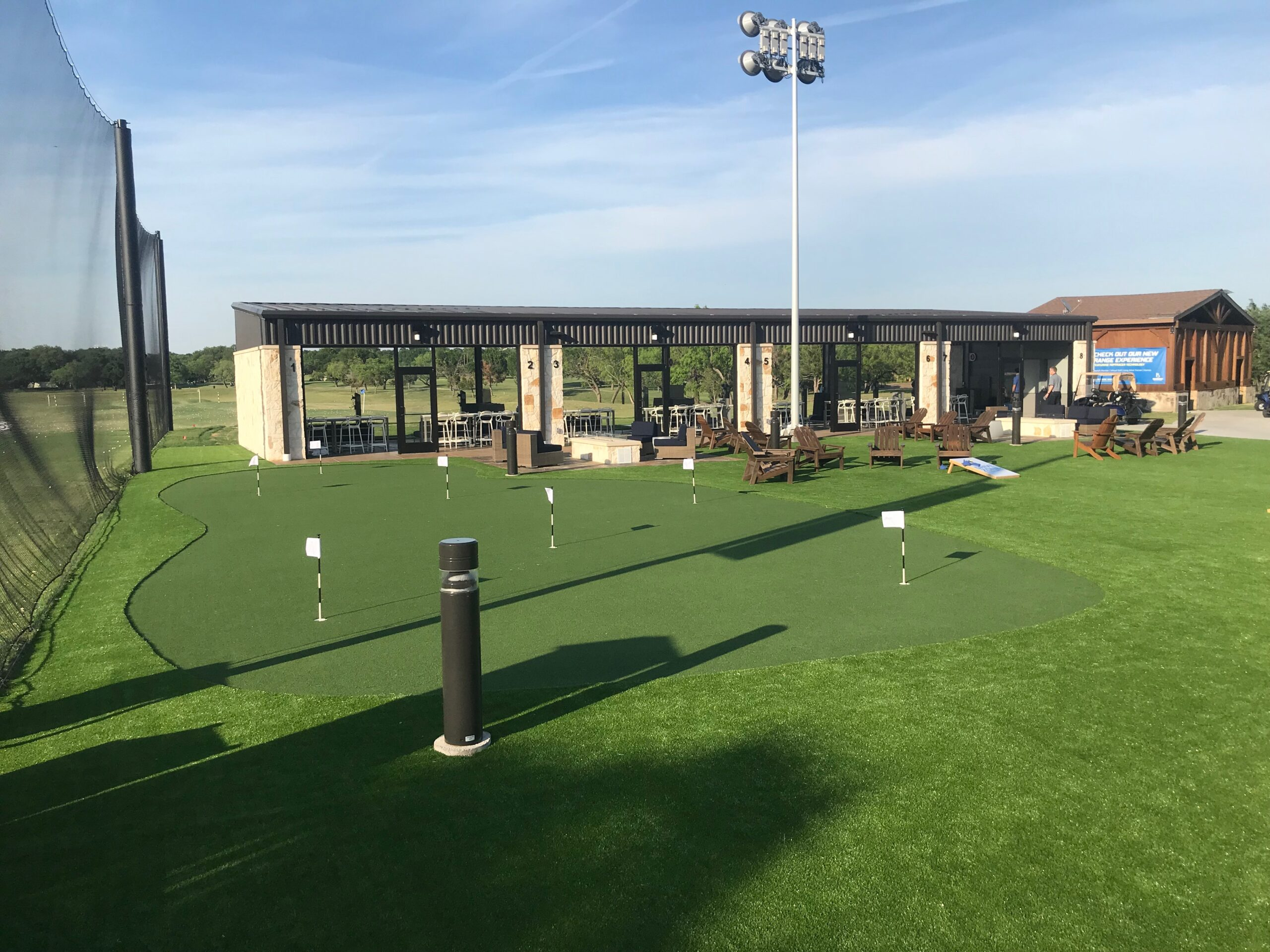 Commercial Turf Putting Green Installation