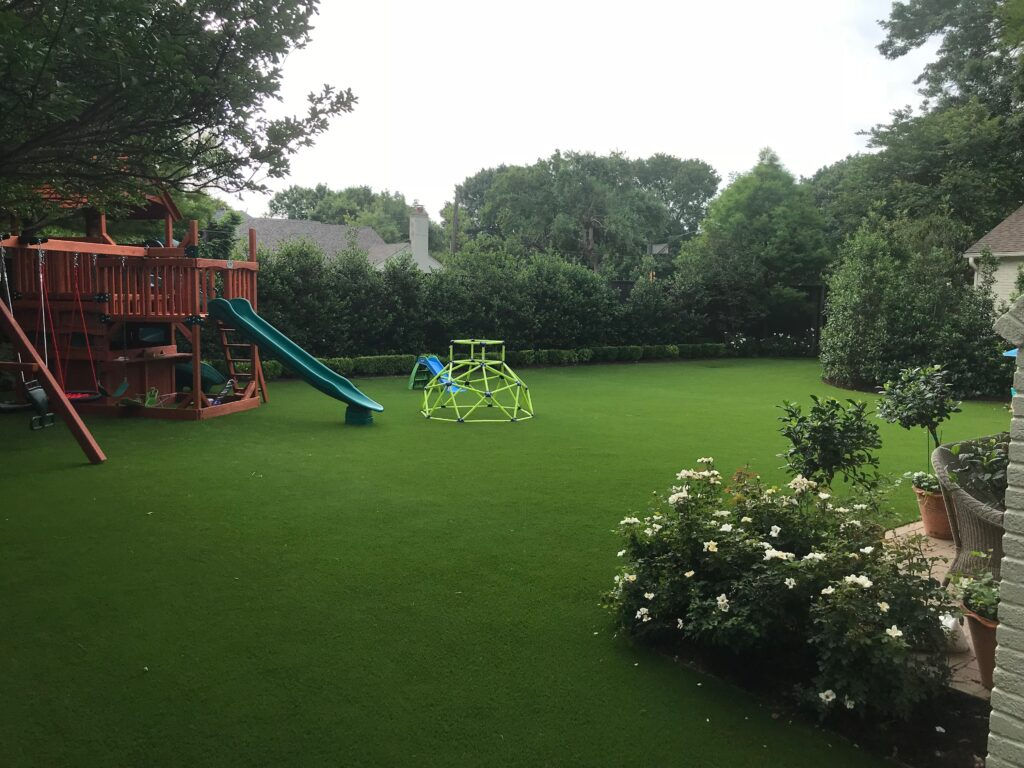 Backayrd Turf Project for Playground